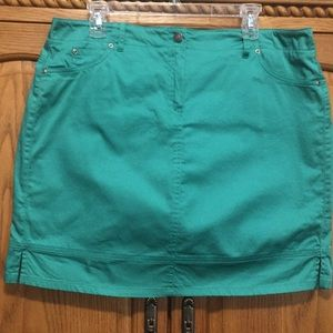Women's Bamboo Traders Skort Size 16